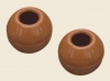 Chocolate Truffle/Praline Shells - Dark